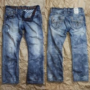 Rock Revival Zed Straight Jeans